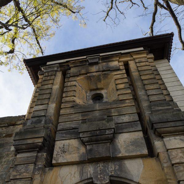 Eingang zur Burg Stolpen