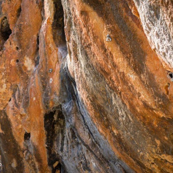 Kletterfelsen Coves Roges in Gata de Gorgos, Spanien