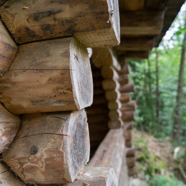 Schutzhütte auf der Anhöhe Ludens Ruh