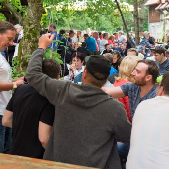 Himmelfahrt im Biergarten, Dresdner Heide