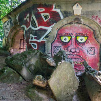 Ruine am Wolfshügel, Dresdner Heide