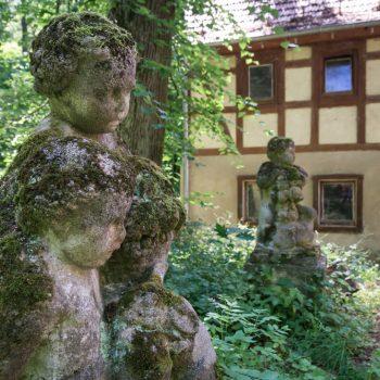 Figuren an der Grundmühle, Seifersdorfer Tal