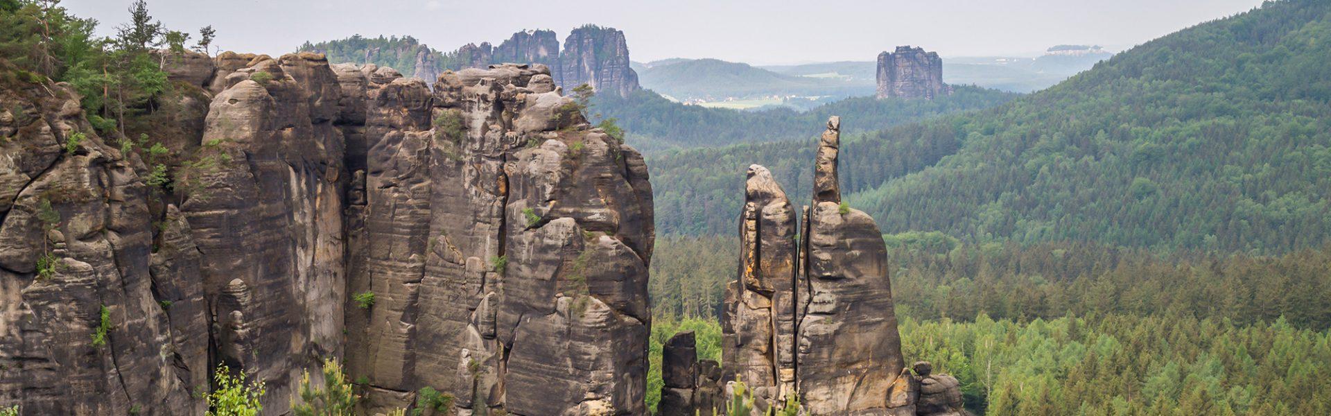 Sächsische Schweiz Schrammsteine Falkenstein