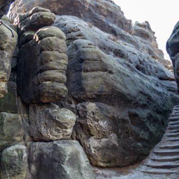 Gipfelweg auf dem Gohrisch