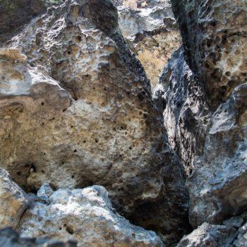 Struktur des Sandsteins, Papststein