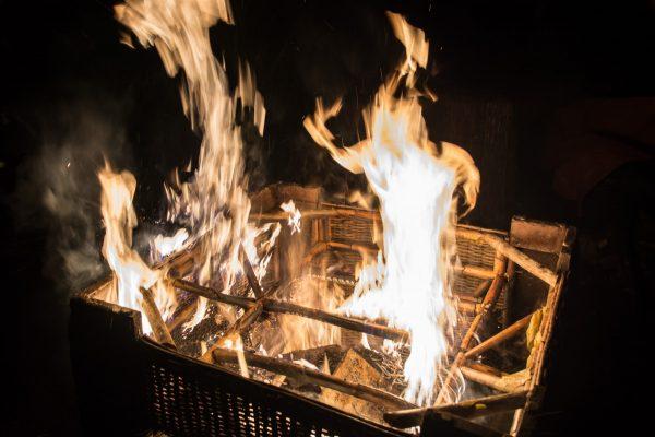 Spiel des Feuers, Feuerfigur