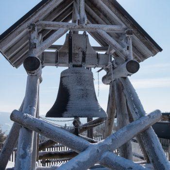 Friedensglocke auf dem Fichtelberg, Erzgebirge