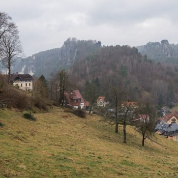 """Auf dem Wanderweg """"Zur Kleinen Bastei"""""""