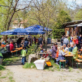 Biergarten im Grünen, Heidemühle
