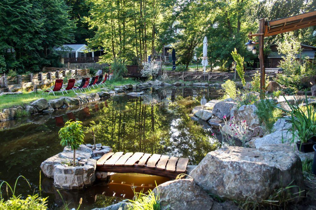 Im Garten der Heidemühle