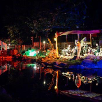 Konzert auf der Teichbühne in der Heidemühle