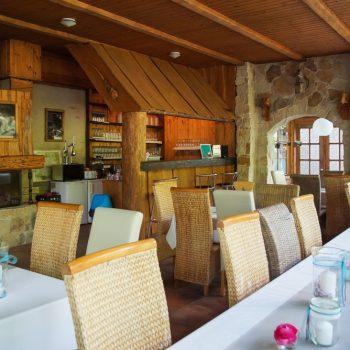 Gastraum Jägerbaude, Heidemühle
