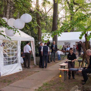 Hochzeitsfeier in der Jägerbaude, Heidemühle