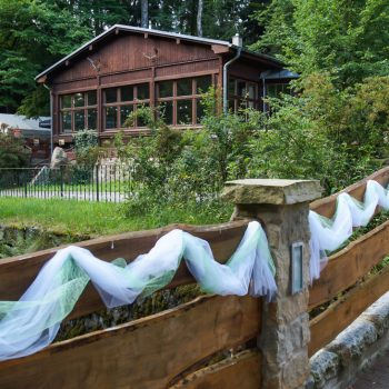 Rustikal feiern, Jägerbaude in der Heidemühle