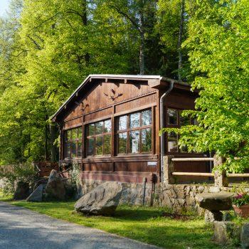 Jägerbaude, rustikal feiern in der Heidemühle