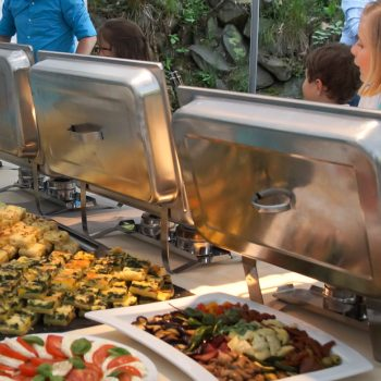 Festtags-Buffet in der Heidemühle
