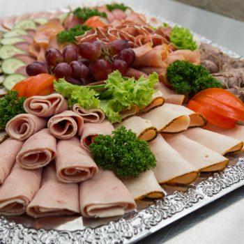 Kalte Platten, gemischte Wurstplatte
