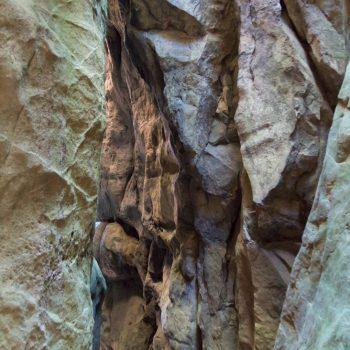 Felsen in der Wolfsschlucht, Sächsische Schweiz