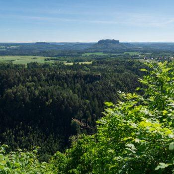 Brandaussicht, Sächsische Schweiz
