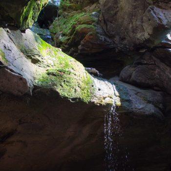Diebshöhle am ehemaligen Steinbruch