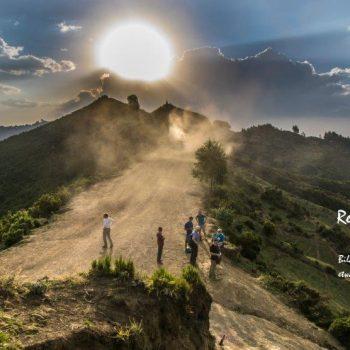 Paragliding in Afrika, Landschaft und Menschen Äthiopiens