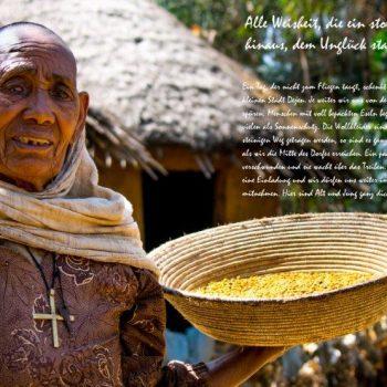 Begegnung mit Menschen Äthiopiens, Reisepräsentation in der Heidemühle Dresden