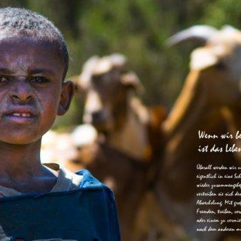 Gesichter Äthiopiens, Reisepräsentation über Afrika in der Heidemühle Dresden