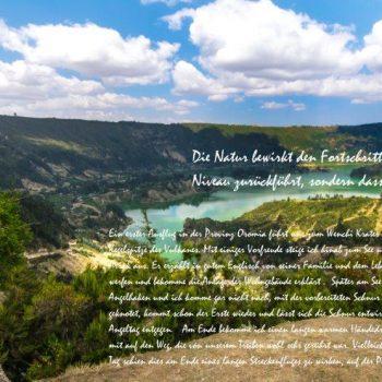 Landschaft in Äthiopien, Paragliding, Reisedoku in der Heidemühle