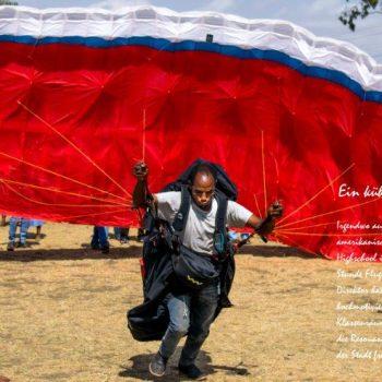 Paragliding in Afrika, Eindrücke aus Äthiopien präsentiert in der Heidemühle