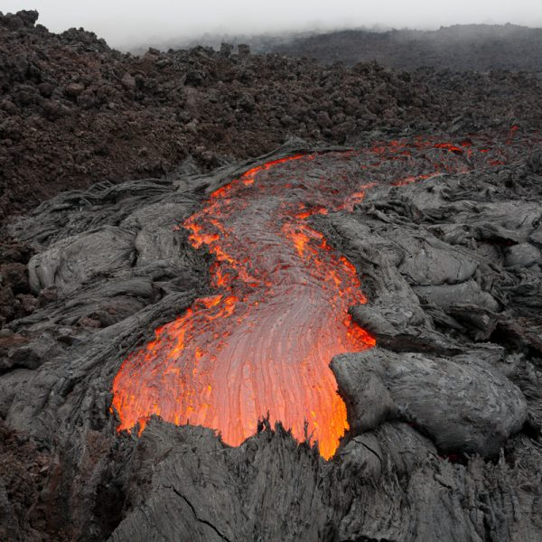 Vulkan Tolbatschik - glühender Strom