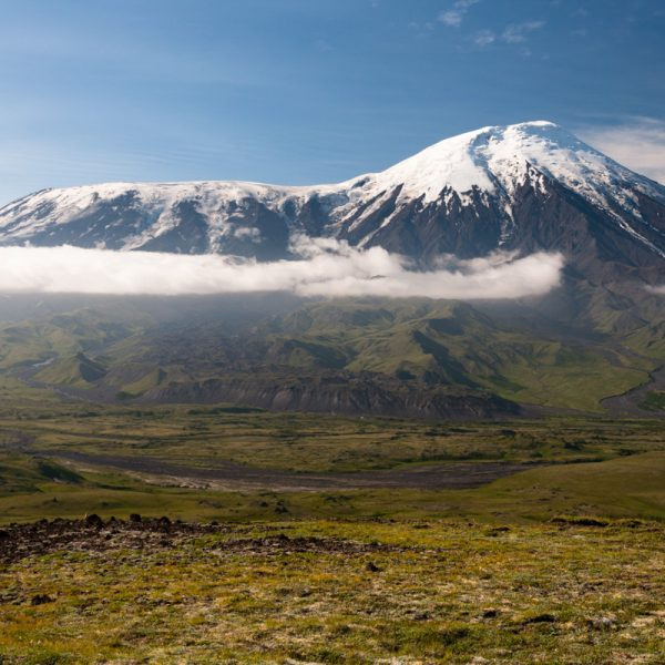 Blick in die Landschaft Kamtschatkas