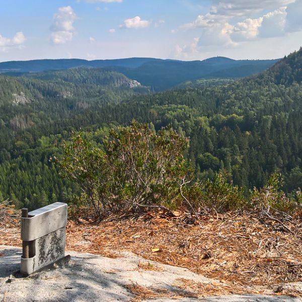 Auf dem Gipfel des Kleinen Lorenzstein