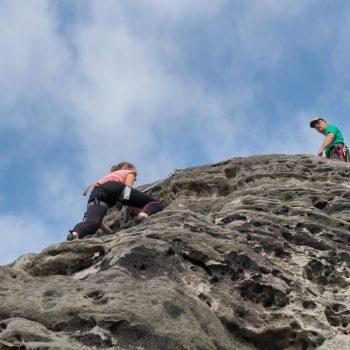 Gamrig, Klettern am Waltersdorfer Horn, Südkante