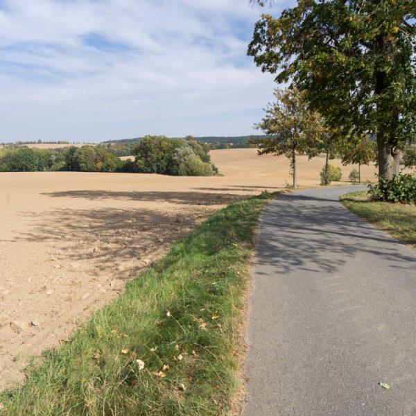 Radweg von Obercunnersdorf nach Höckendorf, Radrunde Osterzgebirge