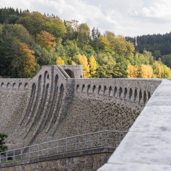Talsperre Klingenberg, Staumauer