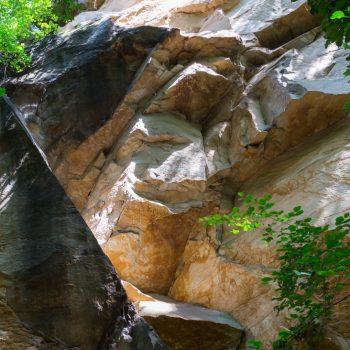 bizarrer Sandstein im Liebethaler Grund