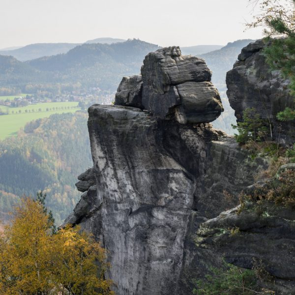 Felsen am Lilienstein