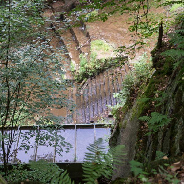 Wasserkraftwerk Niezelgrund, Lohmener Klamm