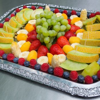gemischte Obstplatte, Vitamine für das Buffet