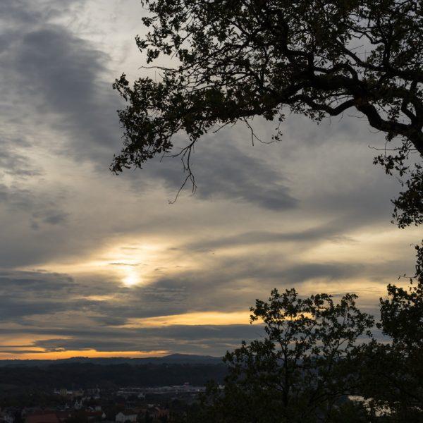 Abendstimmung oberhalb von Pirna