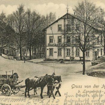 Postkartenmotiv der Heidemühle