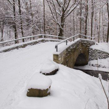 Steinbrücke nahe der Melzerquelle