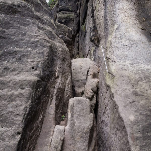 oberer Abschnitt der Rübezahlstiege