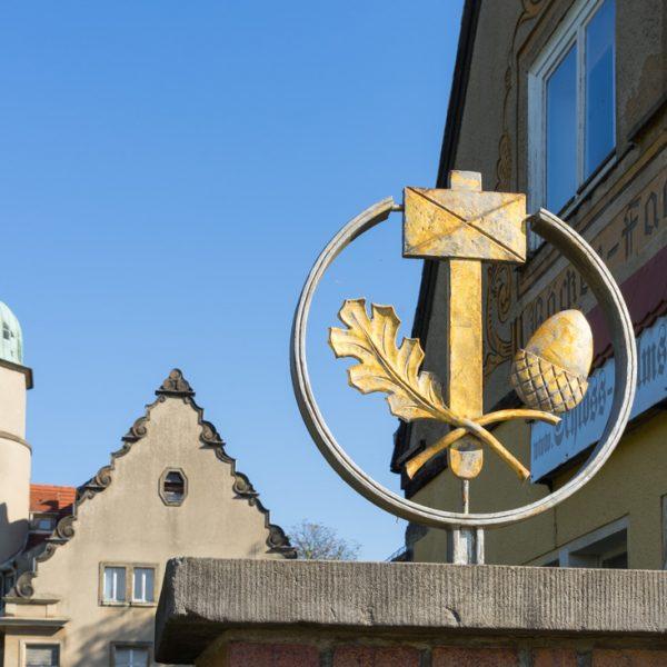 Detail von Schloss Helmsdorf