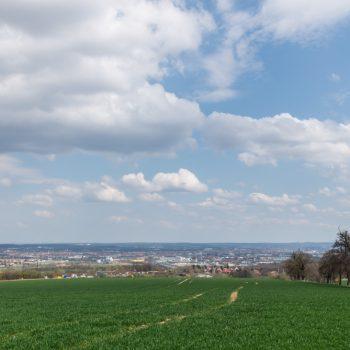 Aussicht auf Dresden