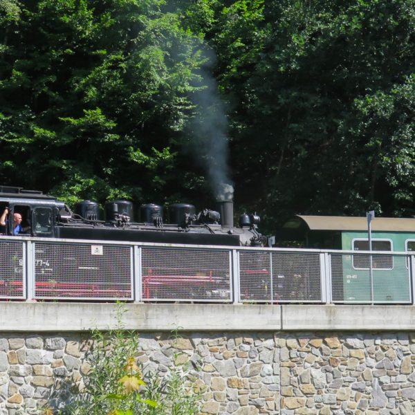 Radtour im Rabenauer Grund, Weißeritztalbahn