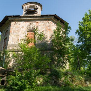 Hellhaus im nördlichen Friedewald, Schnittpunkt der acht Alleen