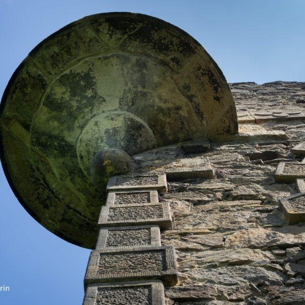 Detail Runderker, küstliche Ruine Pillnitz