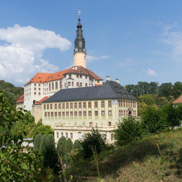 Schloss Weesenstein im Müglitztal