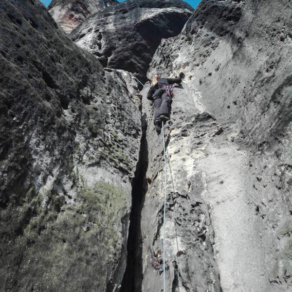 Falkenstein, Klettern an der Porzellankante